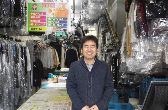 しみぬき工房クリーニングシロヤ香里北之町本店です。