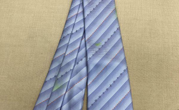 ネクタイの蛍光ペンのしみぬき